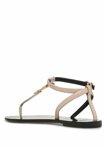 Versace Sandalet Pudra